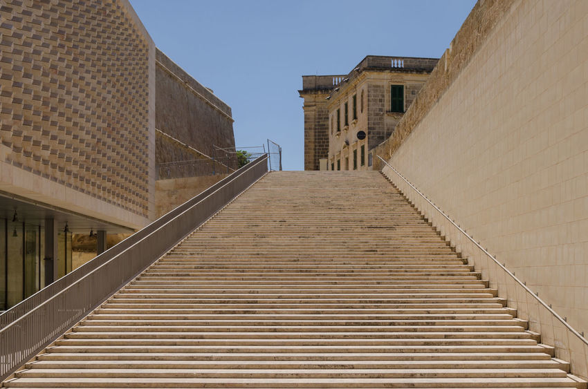 Stairways Staircase Malta Parlament Diet Built Structure Building Battle Of The Cities Been There.