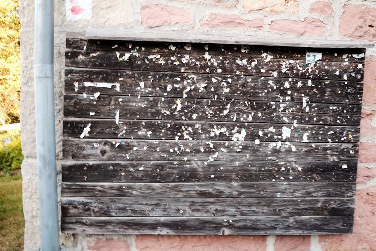 Close-up of old weathered wall