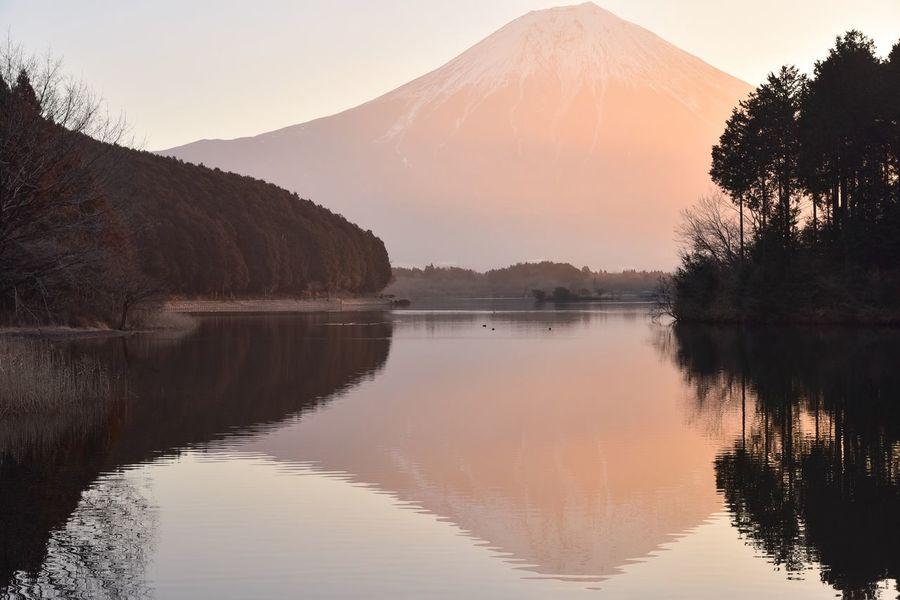 Japan From My Point Of View Reflection Nature EyeEm Nature Lover Landscape_Collection Beauty In Nature Mtfuji