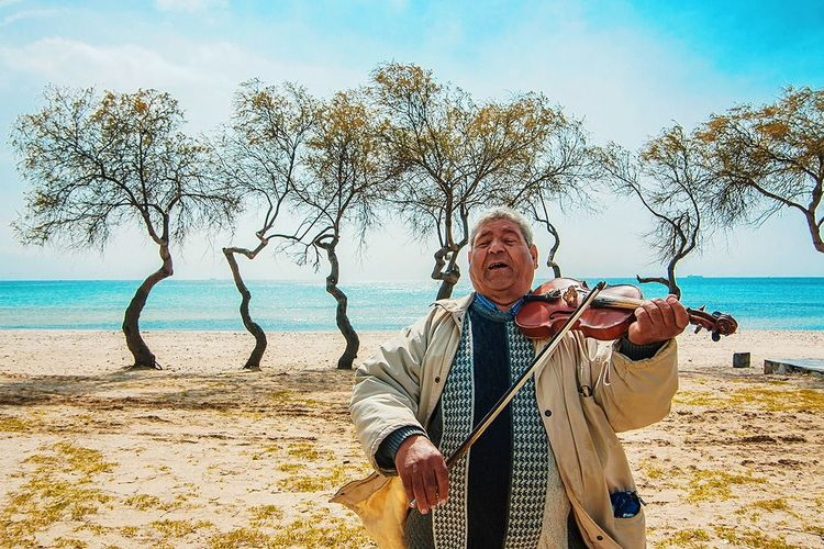Beach Sea Sand Senior Adult Vacations Sky Adult People Nature Stories From The City My Best Photo The Street Photographer - 2019 EyeEm Awards The Photojournalist - 2019 EyeEm Awards