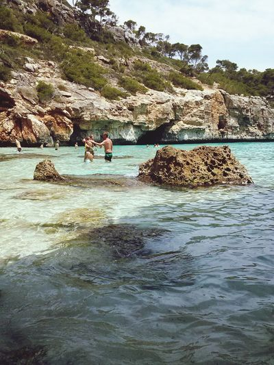 Calas Landscape Relaxing Beachphotography Taking Photos Natural Beauty Paisaje Natural Water Water Reflections