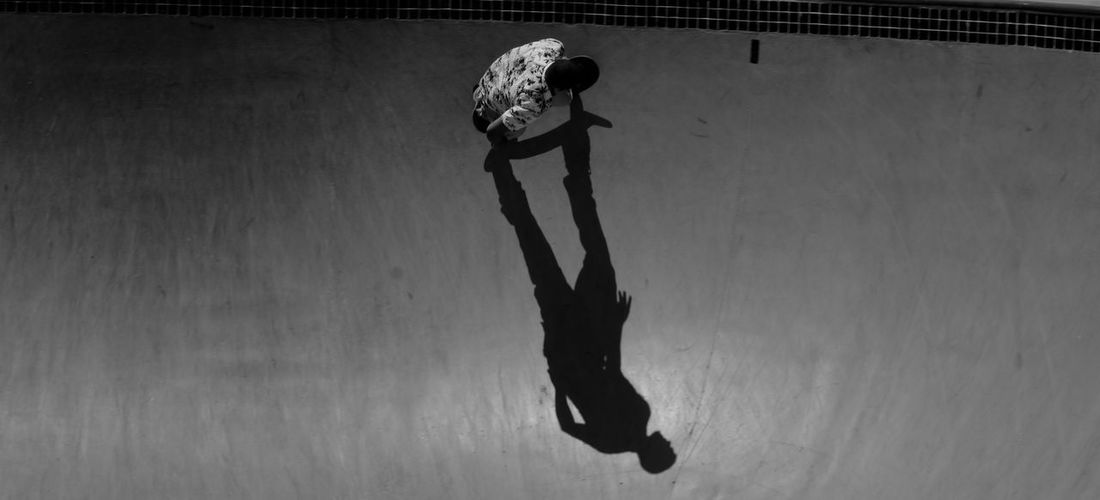 On a sketboard