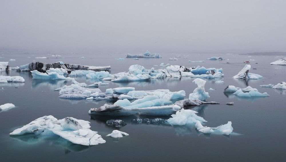 Icebergs in jökulsarlon. Antarctica Arctic Blue Ice Climate Climate Change Cold Temperature Day Glacier Glacier Lagoon Glaciers Horizon Over Water Horizontal Iceberg Iceberg - Ice Formation Icebergs Iceland Jökulsárlón Outdoors Panorama Panoramic Scenic Silence Water Water Reflections Waterfront