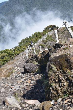Gede Mountain Gunung Gede Gunung Gede Pangrango Indonesia Indah Jalurgununggede Mountain Nusantara