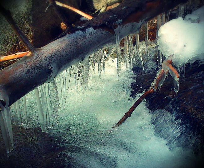 River Frozen