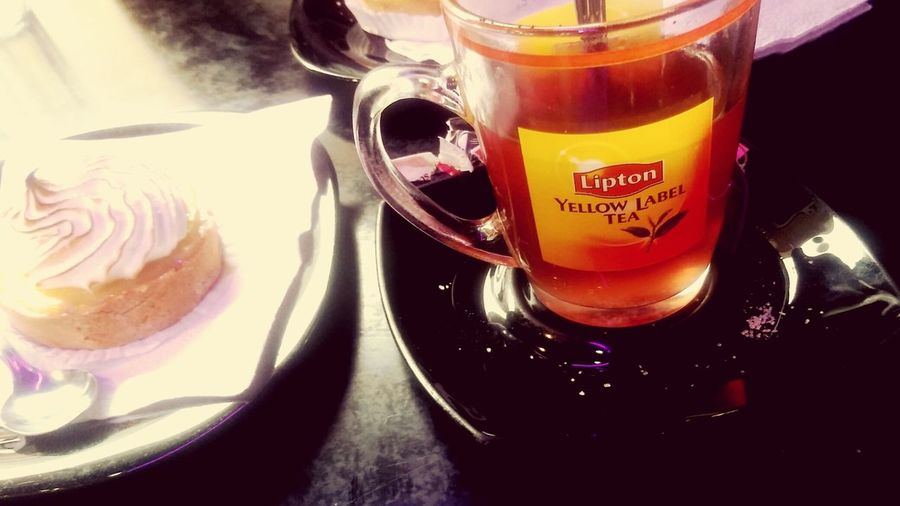 Nice Day Tarte Au Citron Lipton Tea 😍🌸 First Eyeem Photo