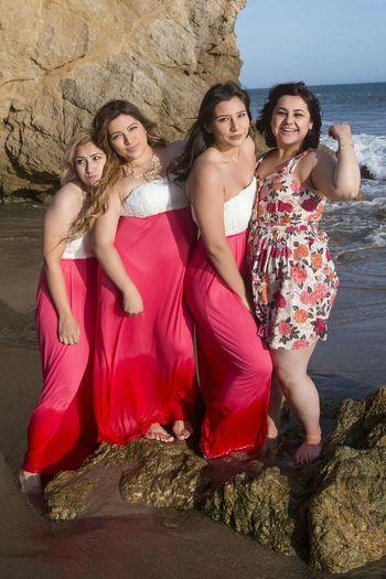 Brides maids, el matador beach Enjoying The Sun El Matador Beach Sea Sunshine Pretty