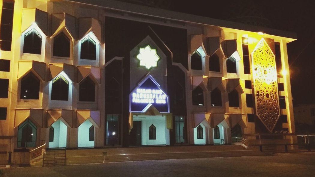 masjid raya darussalam Architecture Building Exterior No People Night Indoors  Islamic Design Islam Is Beautiful
