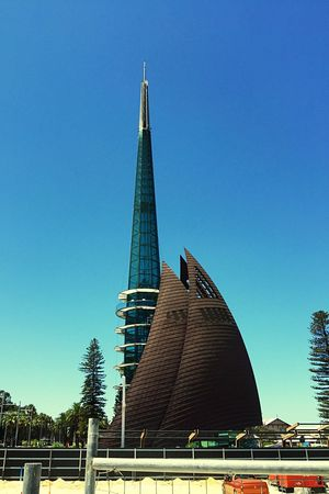 The Bell Tower: Perth Tourist Destination Tourist Attraction  Tourism Perth Architecture Western Australia Modern Swan Bell Tower The Bell Tower Bell Tower Tower Icon Bells Swan Bells Cultural Heritage Cultural City Attraction Destination Building Exterior Design Perth Bell Tower Urban Geometry