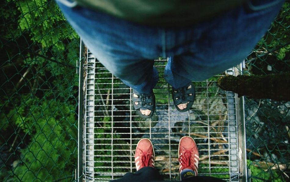 Looking Down Standing On A Bridge Eye Em Best Shots