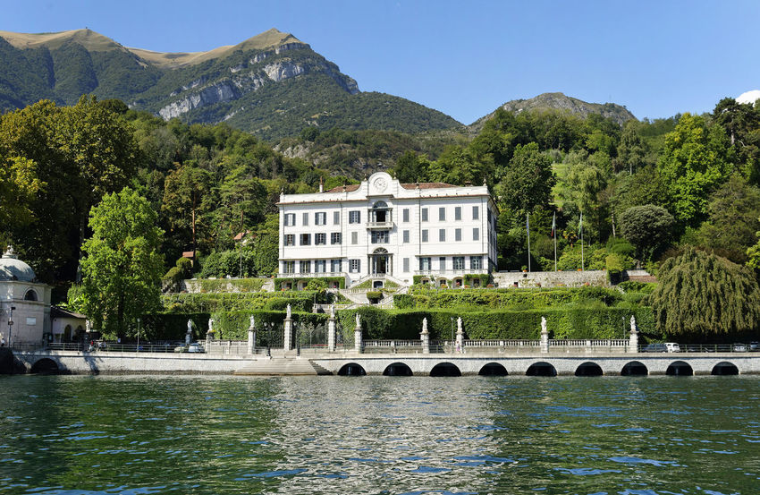 Architecture Beauty In Nature Building Exterior Built Structure Clear Sky Como Como Lake Day Italy Italy🇮🇹 Mountain Nature No People Outdoors River Scenics Sky Tree Tremezzo Villa Carlotta Water Waterfront