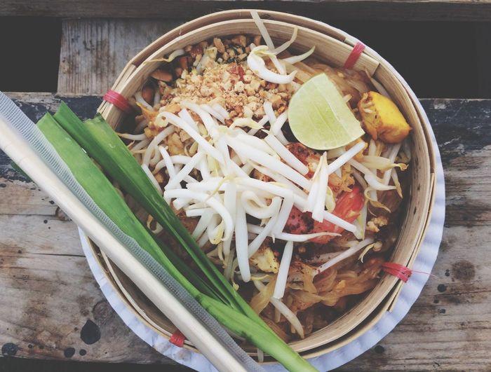 ผัดไทย Food Meal Thailand Artboxbangkok 🍝