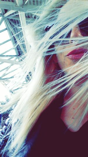 Windy day!!! Windyday Blondiegirl Septumpiercing  Geneve Aeroport Geneva Cointrin Cherrypopy Sunglasses Cheapmonday