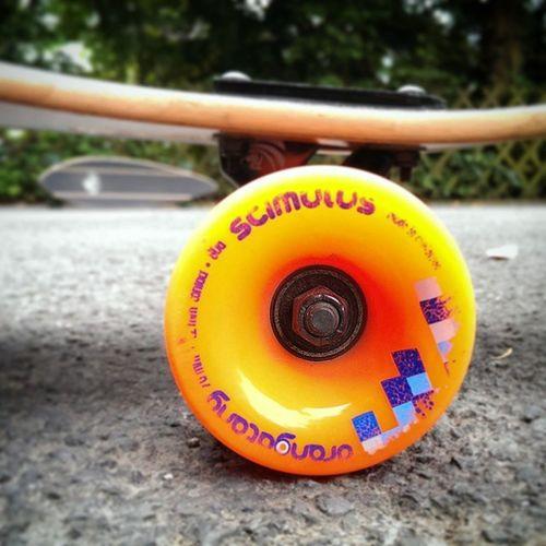 """""""Leave Traces!"""" @loadedboards @orangatangwheels Longboard Ridin ' Street Boardin ' wheels free"""
