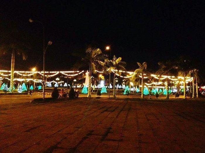 📆17012016 Jan17 Ho Nuoc Ngot lights 🌃 HồNướcNgọt Hometown SócTrăng Vietnam