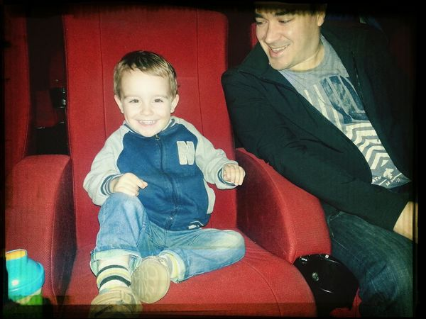 First time to the movies to see Thomas and Friends!