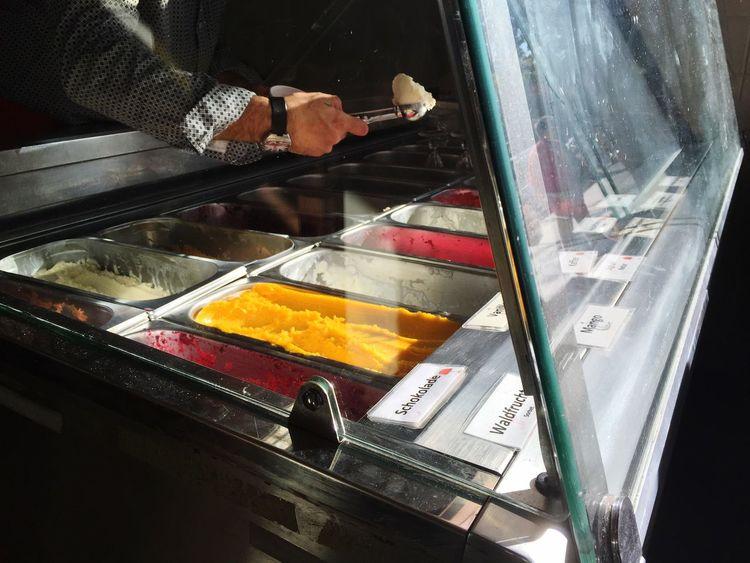 Ice Cream Scoop Yummy Hands At Work