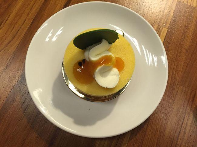 波斯百香曲 Passion Fruit Tart Eat Cake