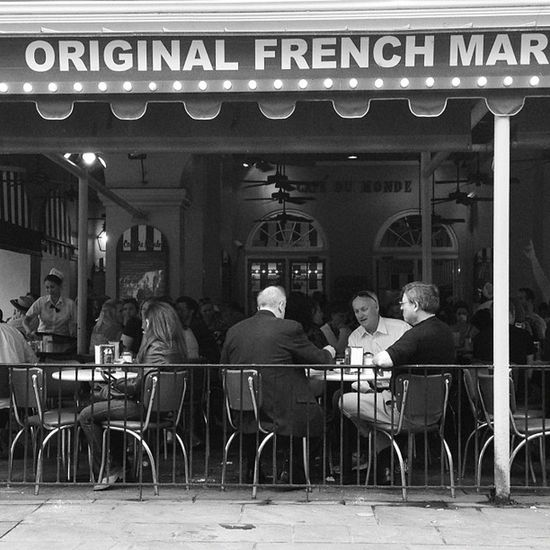 Cafe Du Monde. New Orleans. #iphoneography #jomo IPhoneography Jomo