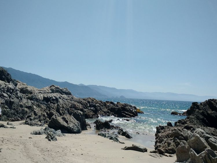 Sea Beach Scenics Sky Nature Sand Beauty In Nature Horizon Over Water Mountain Landscape Water No People Outdoors Day Puerto Vallarta Tranquil Scene Beauty In Nature Mexico Wave Cove Branch Coastal Views Sun And Sea Freshness Rocky Shore