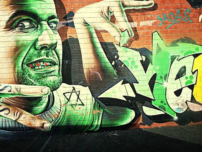 Street Art Graffiti Like Roma