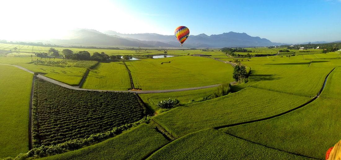 Balloon Flights in Taiwan EyeEmNewHere Taiwan Adventure Balloon Hot Air Balloon Outdoors Skyrainbow Taitung Balloon Flights In Taiwan