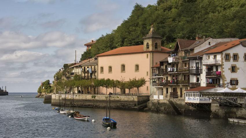 Architecture Building Exterior Built Structure History Nautical Vessel Pasai Donibane - Euskalherria Port Waterfront