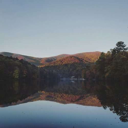 Mountain Reflection Overload Reflection Landscape Mountain Lake Water Sunset Purity Nature Tree Sky No People Outdoors Natural Parkland Day Beauty In Nature Scenics Beautiful Nature The Great Outdoors - 2016 EyeEm Awards Creative Photography ExploreEverything HikeLife Nature Mountain Range Adventureworthy Travel Destinations