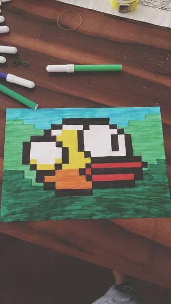Check This Out Art Getting Inspired Flappy Bird
