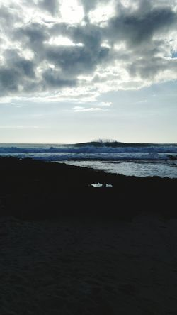 Sea Horizon Over Water Cloud - Sky Water Beach Sky Scenics