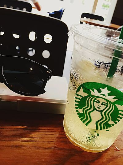 Today is very hot Summer Starbucks