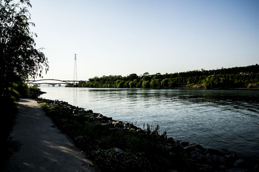 Blank And White Calm Distant Han River Korea Lake Lakeshore Outdoors Pier Reflection Relaxing Moments Rippled River Riverbank Scenics Seonyudo Seonyugyo Seoul Standing Water The Way Forward Tranquil Scene Tranquility Water Waterfront