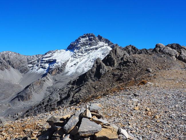 Scenics - Nature Mountain Pic De Rochebrune Queyras Clear Sky Beauty In Nature Mountain Range Environment Landscape Mountain Peak Snowcapped Mountain
