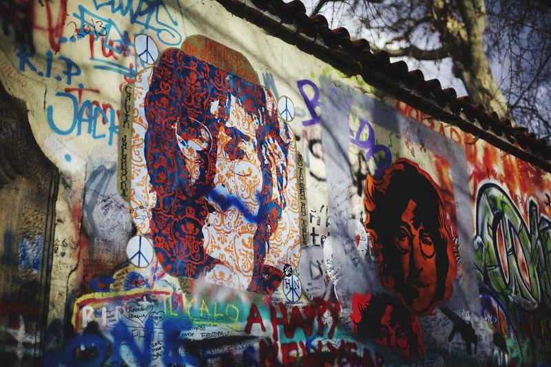 Colors Johnlenon Wall Prague