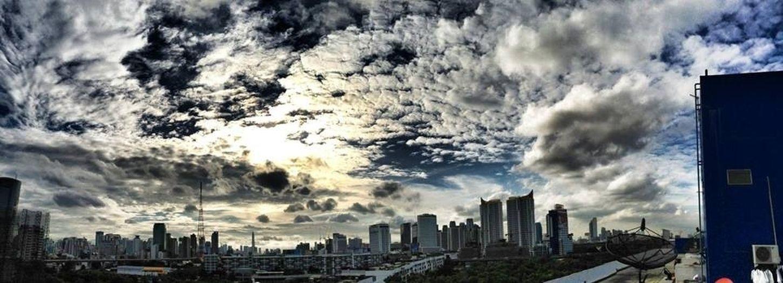 Thailand_allshots Enjoying The Sun Sky Sunset #sun #clouds #skylovers #sky #nature #beautifulinnature #naturalbeauty #photography #landscape