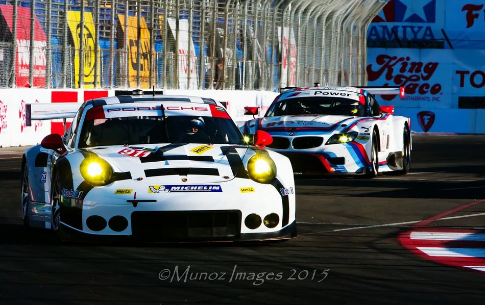 One of my best shots i have ever taken. This was shot with my newest camera to my arsenal, a Canon 40D with a 70-700 f/2.8 MK l Race Race Cars Porsche Long Beach, California USA  First Eyeem Photo