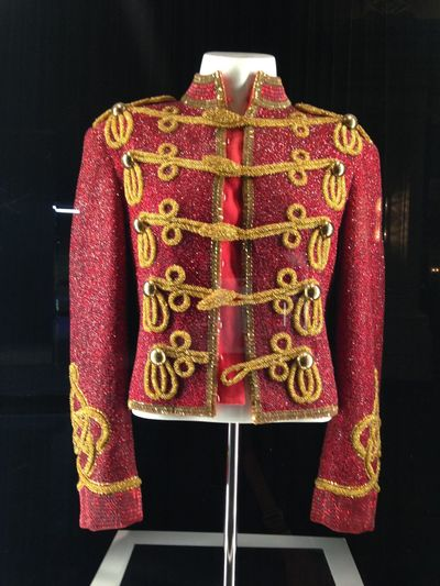 Display Window Mandalay Bay Resort & Casino Memorabilia Red Coat Michael Jackson No People Indoors  Hanging Fashion Red Close-up Coathanger