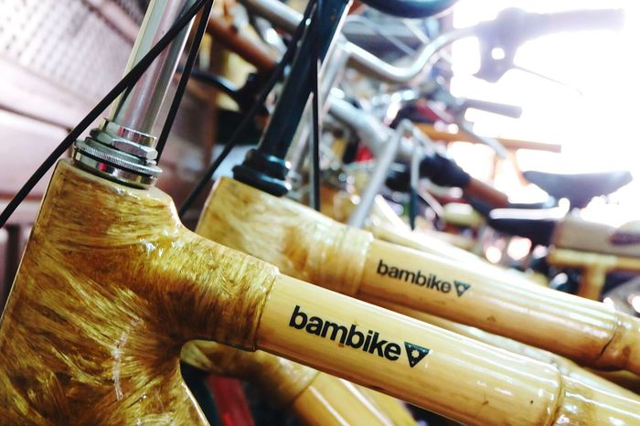 Bambikes in the Philippines. CyclingUnites Close-up Indoors  Industry Skill  Workshop Occupation Horizontal Pedal No People Day Traveling Travel Bike Bikers Biketour Bicycle Travel Destinations Travelling