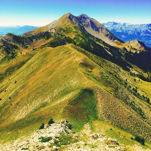 La grande autane (2782m) Ancelle - Hautes-Alpes