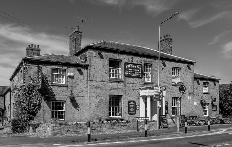 The New Inn, Leven, East Riding Black And White Architecture East Yorkshire Monochrome