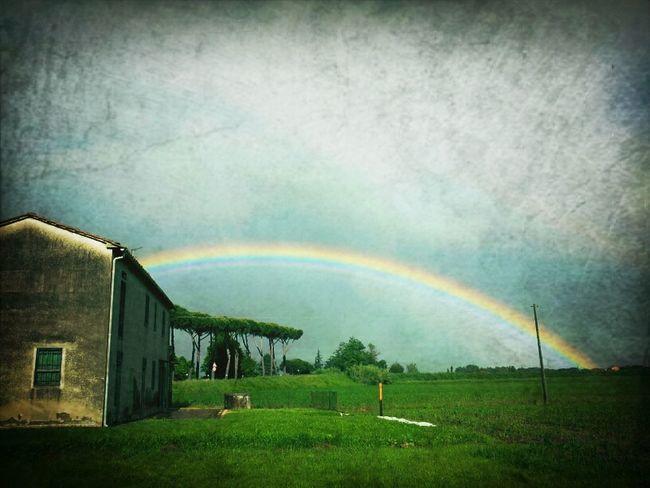 solo un temporale può regalare un arcobaleno! Frame It!