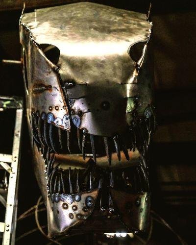 T-Rex T Rex Dinosaur Sclupture Metal Close-up First Eyeem Photo