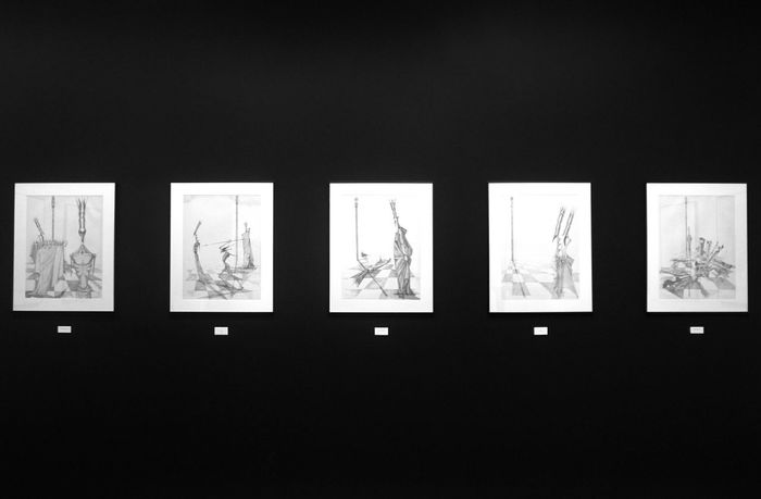 Cristina Galvez's art again. Side By Side No People Indoors  Miraflores Lima Peru Black Blackandwhite Black And White Black & White Curation Fine Art Photography Fine Art Simetric Art Exposition Art Exhibition Gallery The Week On Eyem