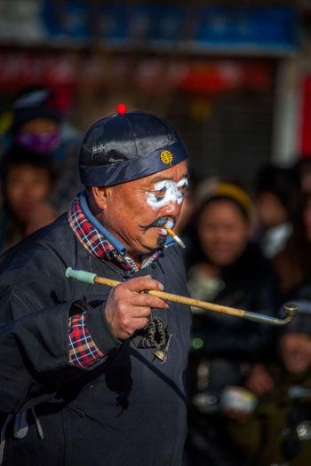 Art Chinatown Men Music Real People