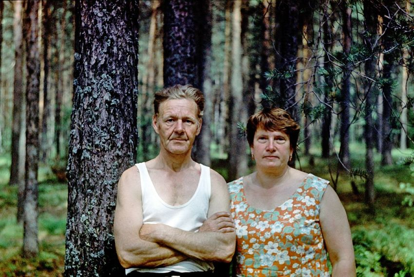 Analogue Photography Camera Slidefilm Lomography Analogue Film Slide Oldschool Lomo Smena Old But Awesome Grandma Grandpa Grand Grandmother Grandfather Couple Old Parents Family Village Redhead Red Pair Love