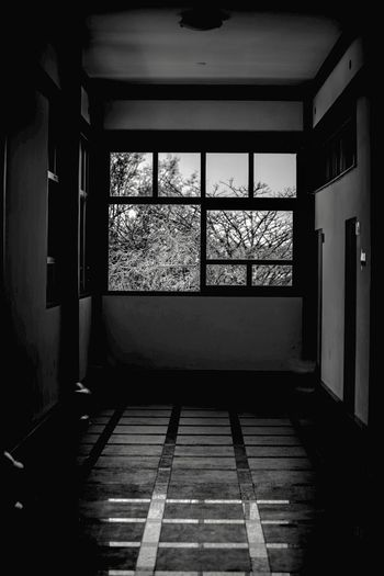The Window in B&W Architecture Indoors  Flooring Window Built Structure Day No People Building Sunlight