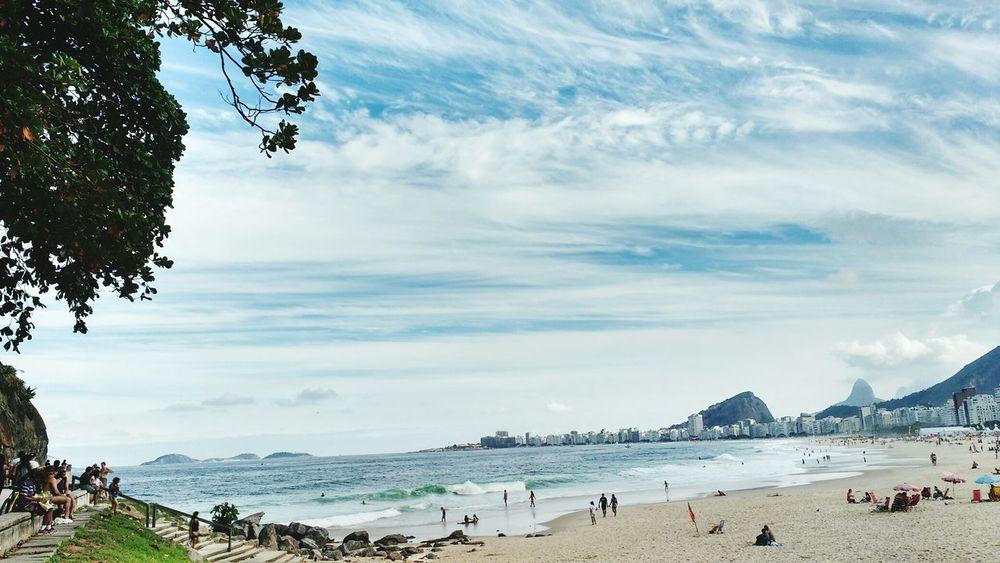 The Essence Of Summer Beach Photography LeMe Praia Do Leme Brazil Rio De Janeiro