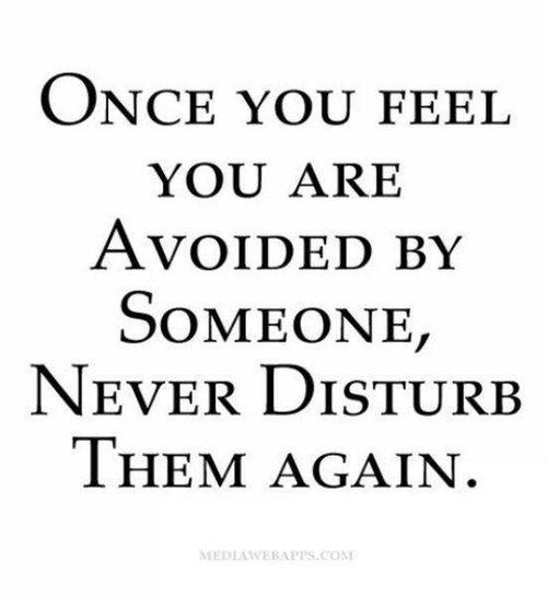 Feeling Avoided