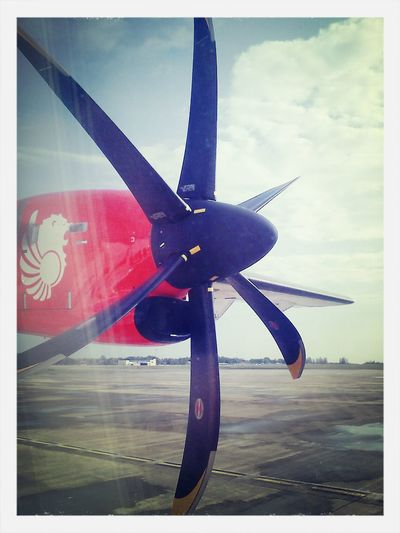 Fron the window....Malindo Air Airport