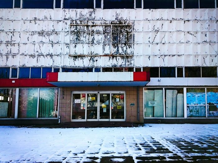 Streetphotography Architecture Building Exterior Outdoors Last Days Of Winter Urban Exploration Torun, Poland